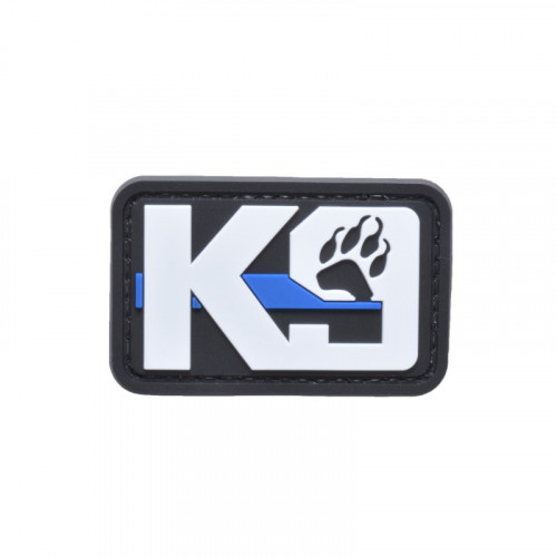 Nášivka K9 blue line