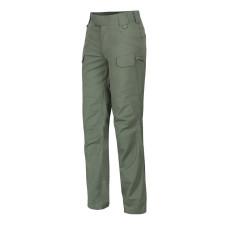 Kalhoty Helikon dámské UTP RESIZED rip-stop Zelené