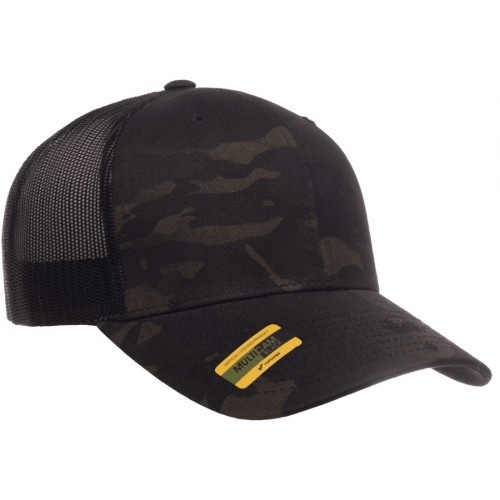 Kšiltovka Multicam Black - Retro