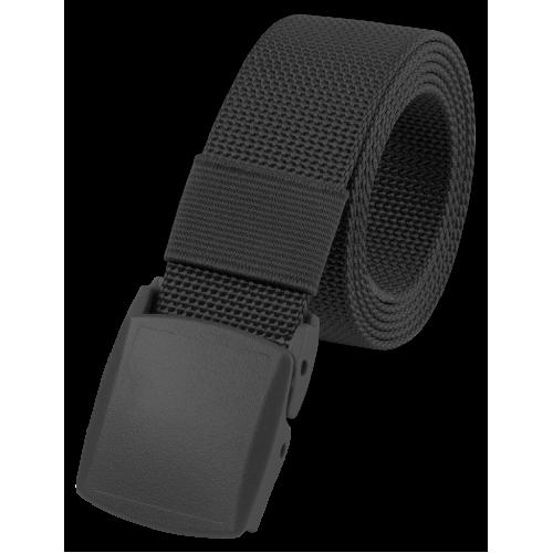 Kalhotový opasek s přezkou černý