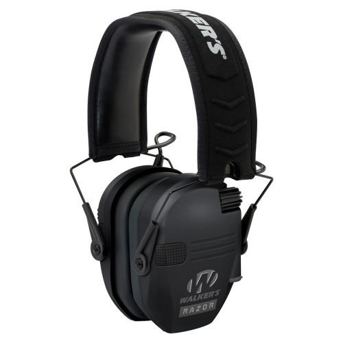 Sluchátka RAZOR SLIM elektronická - černá