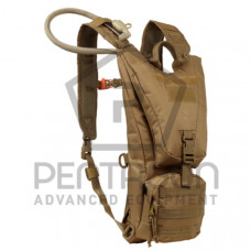 Hydratační batoh PENTAGON Camel bag 2.0 ,vak 2,5 l - coyote