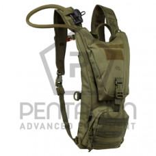 Hydratační batoh PENTAGON Camel bag 2.0 ,vak 2,5 l - zelený