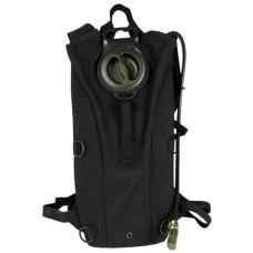 Hydratační batoh MIL-SPEC 3L s popruhy ČERNÝ