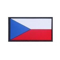 Nášivka Czech Republic 3D gumová 5,5 x 3 cm