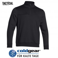 Pullover Under Armour Tactical 1/4 zip Coldgear - černý