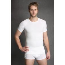 Tričko Antibakteriální pánské kr.rukáv bílé