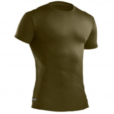 Tričko Under Armour Tactical HeatGear Compression - Zelené