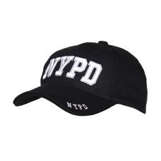 Kšiltovka s motivem NYPD - černá