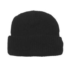 Čepice rolovací -černý