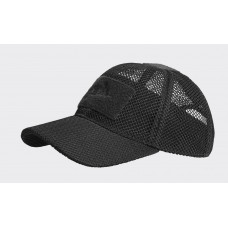 Kšiltovka Helikon MESH Baseball velcro - černá