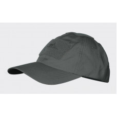 Kšiltovka Helikon Baseball velcro - Shadow Grey