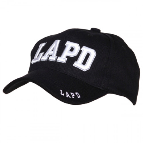 Kšiltovka s motivem LAPD - černá
