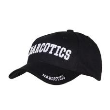 Kšiltovka s motivem NARCOTICS - černá