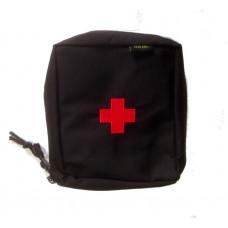 Kapsa MEDIK s křížem - Molle - černá