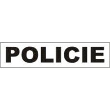 Magnetický nápis POLICIE
