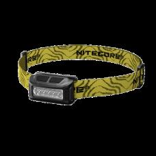 Čelovka NITECORE NU10 USB nabíjecí,výkonné LED diody 160 lm černá