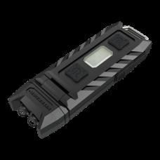 Dobíjecí klíčová svítilna THUMB - USB  85lm s možností naklápění hlavy svítilny