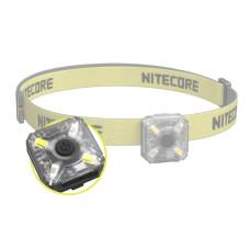 Mini čelovka NITECORE NU05, 35 lm, nabíjecí, bílá a červená LED