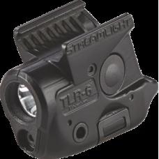 Podvěsná svítilna Streamlight TLR-6 na MP, 100 lm, červený laser