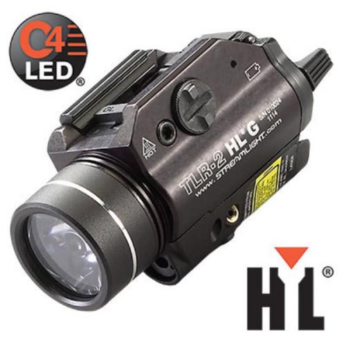 Podvěsná svítilna Streamlight TLR-2 HL G , 1000 lm, zelený laser