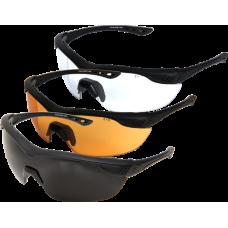 Brýle OVERLORD - sada 3 výměnných skel, G-15, CLEAR,TYGER´S EYE