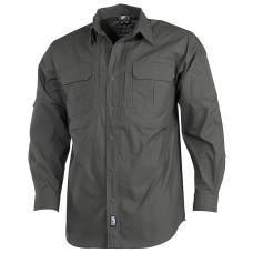 Košile MFH Stake s dlouhým rukávem  Teflon - ripstop - olive