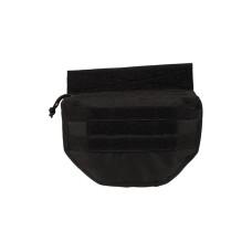 Pouzdro Drop Down - břišní kapsa černá