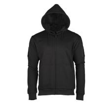 Mikina Tactical s kapucí černá