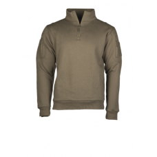 Mikina Tactical 1/3 zip Dark Green