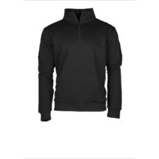 Mikina Tactical 1/3 zip černá