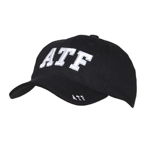 Kšiltovka s motivem ATF - černá