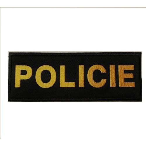 Nášivka Policie na nosič plátu