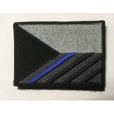 Nášivka Vlajka ČR - Blue line - Levé rameno