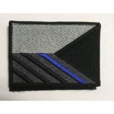Nášivka Vlajka ČR - Blue line - Pravé rameno