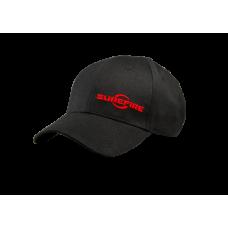 Kšiltovka Surefire - nastavitelná, červené logo, ČERNÁ