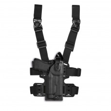 Stehenní pouzdro VegaHolster WARRIOR Glock 17/19 s TLR-1/2