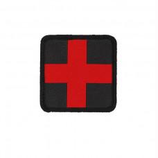 Nášivka Medic kříž vyšitý