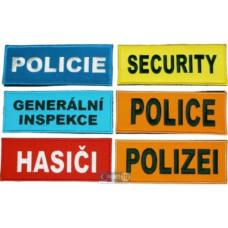 Univerzální rukávová páska s ID panelem / nápisem