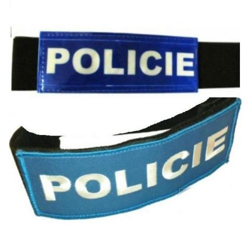 Rukávová páska panel - POLICIE
