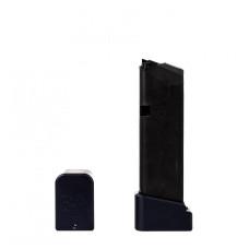 Prodlužovací botka na zásobník Glock 19 - GEN.3-4  o 3 náboje - černá