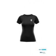 Dámské lehké funkční tričko Scutum Wear Odeta, černé