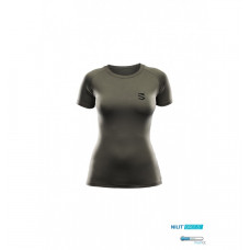Dámské lehké funkční tričko Scutum Wear Odeta, zelené