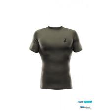 Pánské lehké funkční tričko Scutum Wear Christoph,zelené